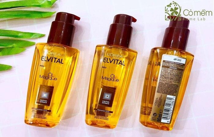 L'Oreal Elvital Extraordinary Oil la serum duong toc kho so duoc tao tu 6 loai thao duoc