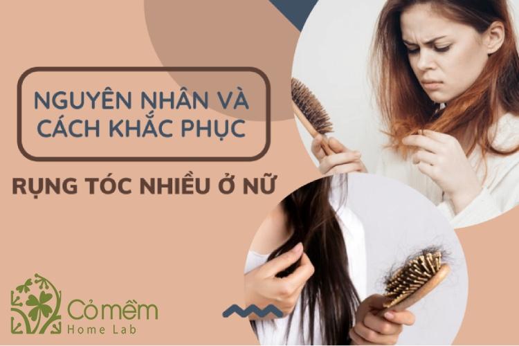 5 bệnh gây rụng tóc nhiều ở nữ - có thể bạn chưa biết