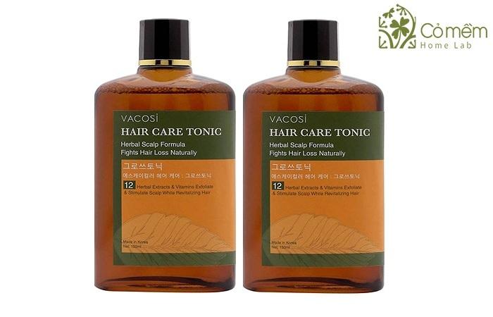 Vacosi Hair Care Tonic co thanh phan gom 12 loai thao moc tu nhien