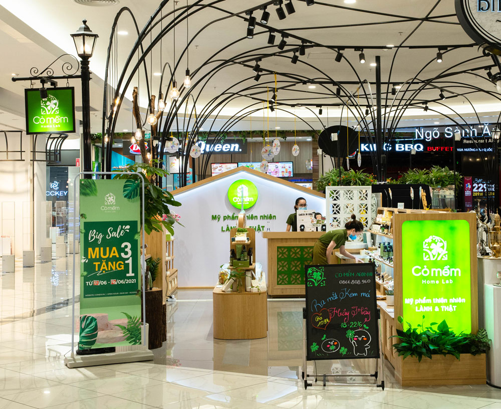 Cỏ Mềm Aeon Mall Hà Đông