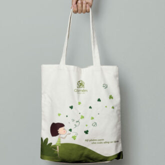 Túi vải Vintage - Bảo vệ môi trường