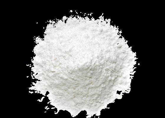 Titanium dioxide, aluminium hydroxide, stearic acid